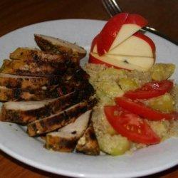 Zucchini and Yellow Squash With Quinoa