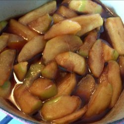 Tfah - a Moroccan Apple Dessert