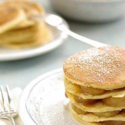 Pancakes With Vanilla Banana (Using an Egg Replacer)