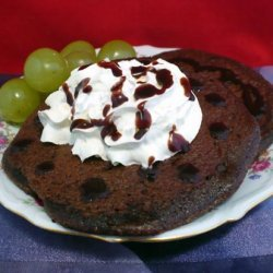 Double-Chocolate Devil's Food Pancakes