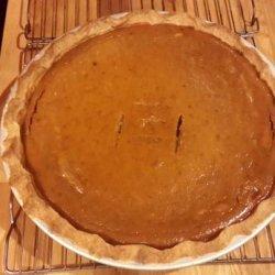 Pumpkin Pie (Dairy Free, Soy Free, Gluten Free)