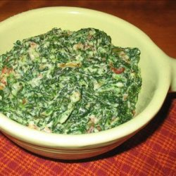 Creamed Spinach Berghoff--Chicago