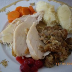 Roast Turkey and Bread Stuffing.