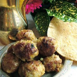 Saudi Chicken Kofta (Gluten-Free) recipe