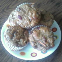 Carrot Muffins (Sweetened With Stevia)