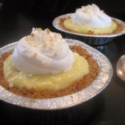 Super Easy Coconut Cream Pie