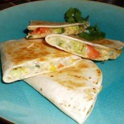 Grilled Avocado Quesadillas