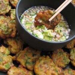 Tod Mun Goong ( Thai Fish and Shrimp Cakes )