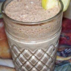 Cappuccino Banana Smoothie
