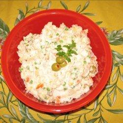 Brazilian Potato Salad Aka recipe