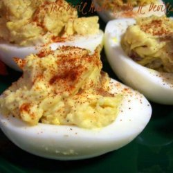 The Devil Made Me Do It Deviled Eggs