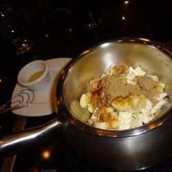 Melting Pot Bananas Foster Fondue