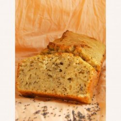 Easy Vanilla Poppy Seed Bread  (Diabetic Changes Given)