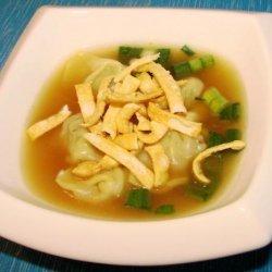 Asian Dumpling Soup