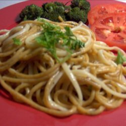 Plain Spaghetti Parmesan