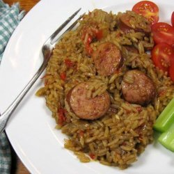 Paul Prudhomme's Poorman's Jambalaya recipe