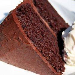 Crazy Dark Chocolate Cake recipe