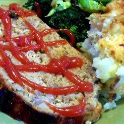 Leftover Mashed Potato Meatloaf