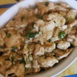 Super Quick Thai Flavoured Stir-Fried Chicken.