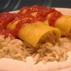 Cheese and Pepper Enchiladas
