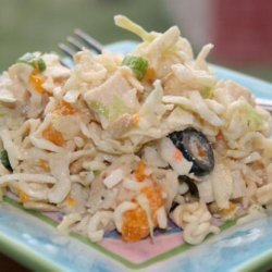 Chicken & Noodle Slaw recipe