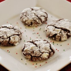 Chocolate Coffee Molasses Cookies