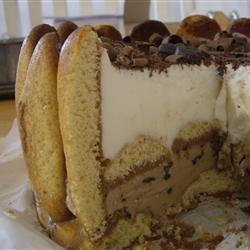 Ice Cream Tiramisu Cake