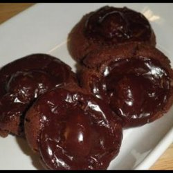Chocolate Covered Cherry Cookies III