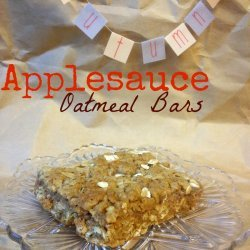 Applesauce Walnut Bars
