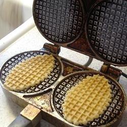 Belgian Iron Cookies