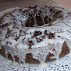 Chocolate Zucchini Rum Cake
