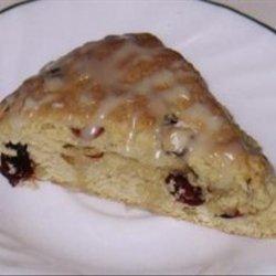 Cranberry Maple Nut Scones
