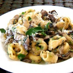 Gnocchi With Sage, Mushrooms & Mascarpone