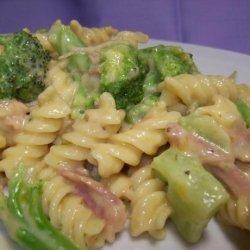 Ham and Cheese Pasta Skillet recipe