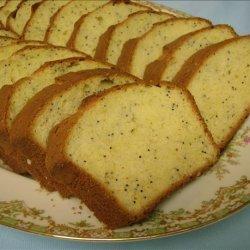 Poppy Seed Snack Cake
