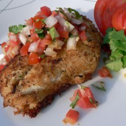 Scampi Stuffed Tilapia With Pico De Gallo #RSC