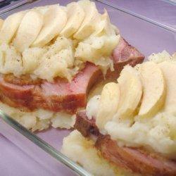 Smoked Pork Chops With Potatoes & Sauerkraut recipe