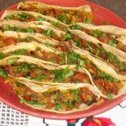 Chorizo, Potato, and Mushroom Tacos
