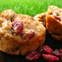 Apple-Cranberry Wheat Muffins recipe
