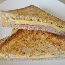 Diner-Style Grilled Ham & Cheese Sandwiches