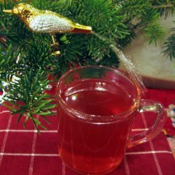 Blushing Cranberry Cider recipe