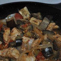 Eggplant Chicken