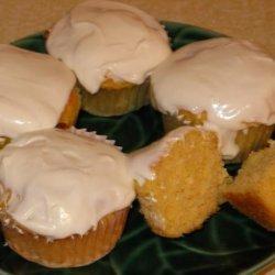 Banana Papaya Cupcakes