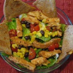 Quesadilla Yee-Haa! Salad (Hungry Girl) 6 Ww Points recipe
