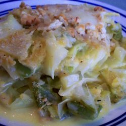 Creamed Cabbage Casserole