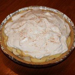 Sugar Free Banana Cream Pie