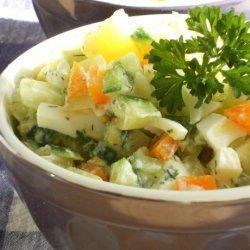 Russian Style Salad(Salat Olivier) recipe