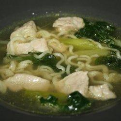 Pork Lo-Mein Soup