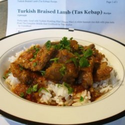 Turkish Braised Lamb (Tas Kebap) recipe