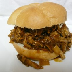 Lightened up Pulled Pork